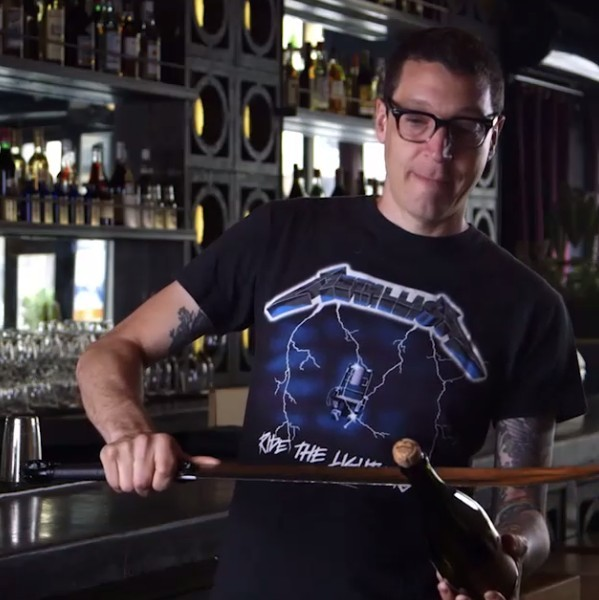 The Art of Sabrage: How To Saber a Bottle of Champagne