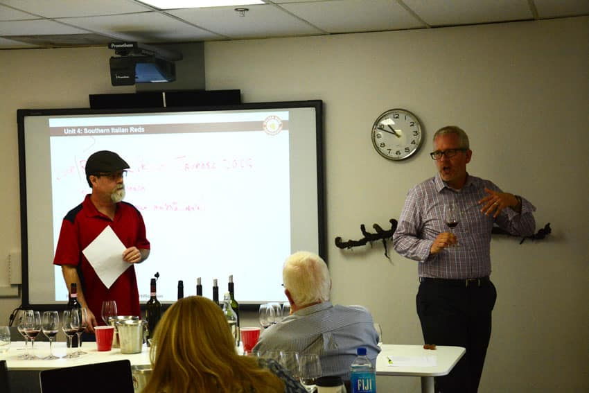 Christian Oggenfuss, DWS, throwin' down words about Italian Wine.