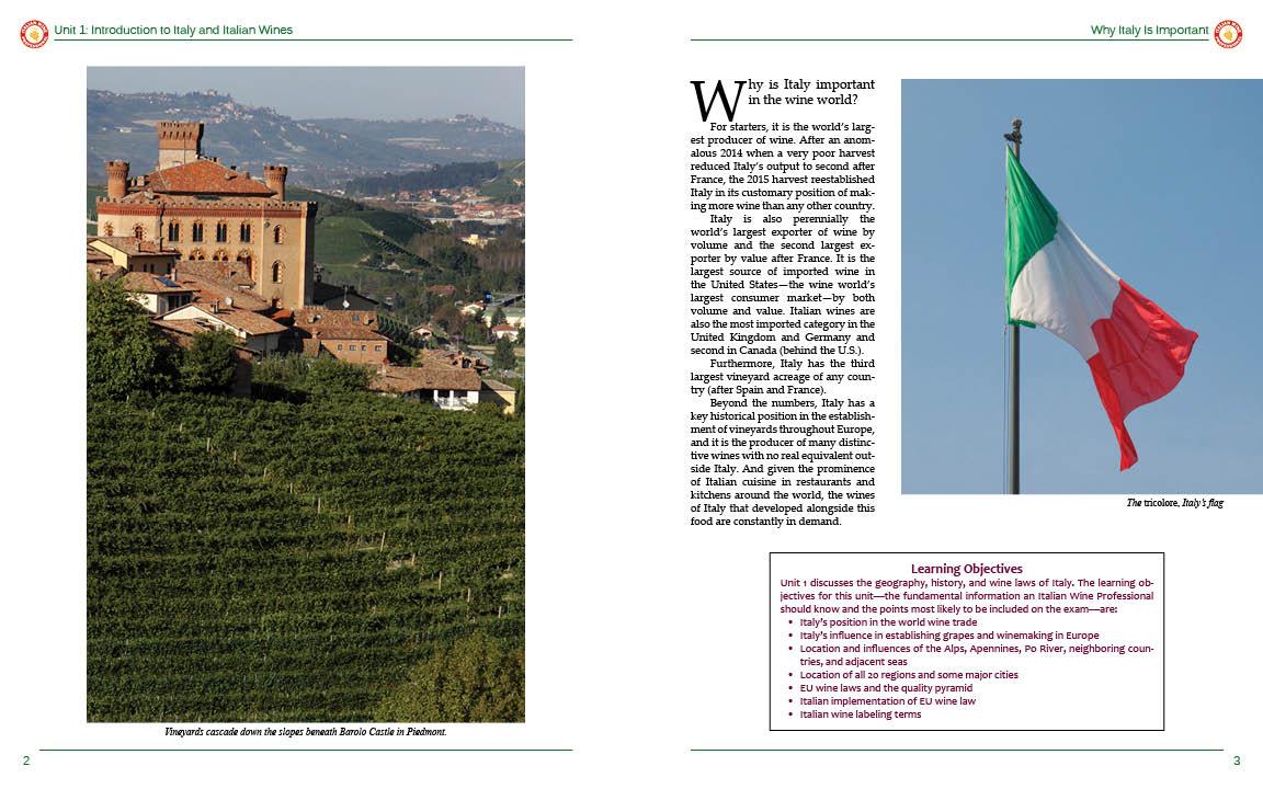 Into Italian Wine pp 2-3