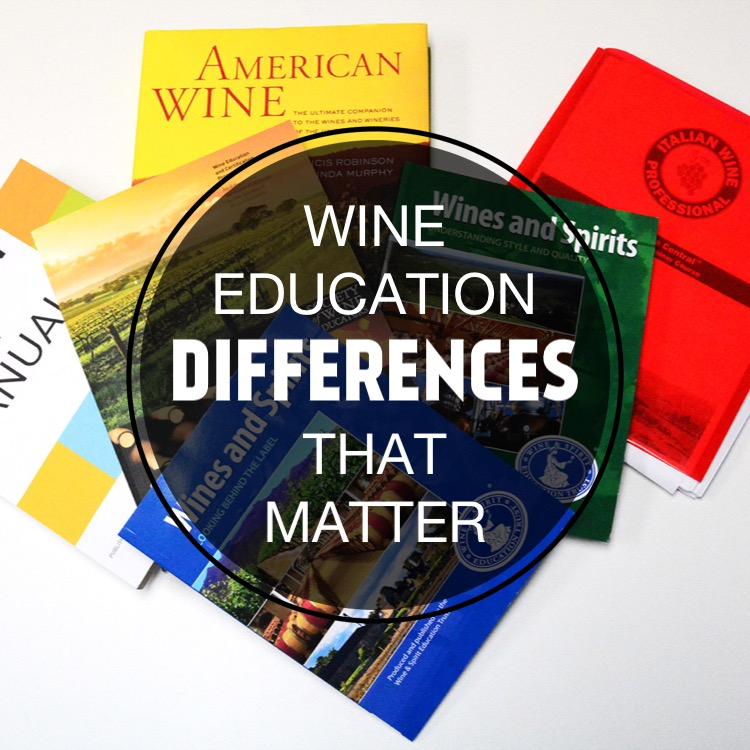 Wine Education Differences That Matter