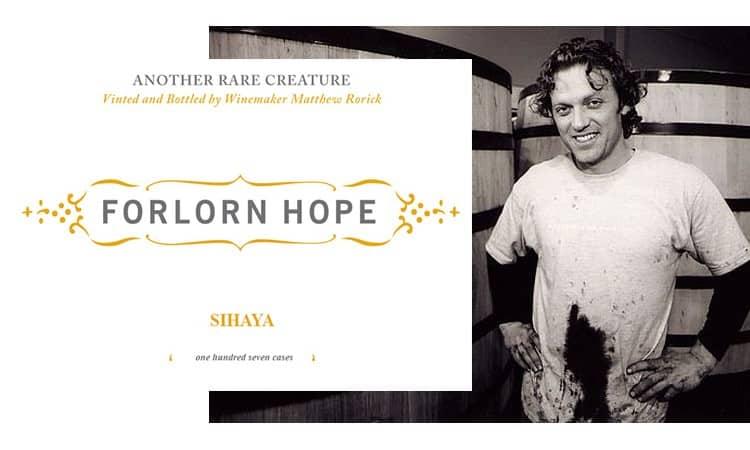 Winemaker Matthew Rorick. Image credit.