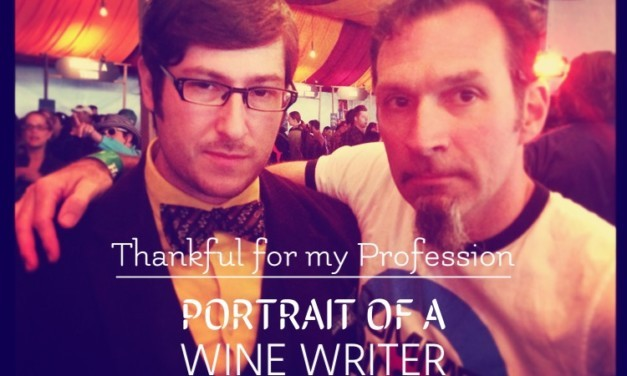 Portrait of a Wine Writer