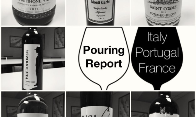 Pouring Report: Italy, France and Portugal