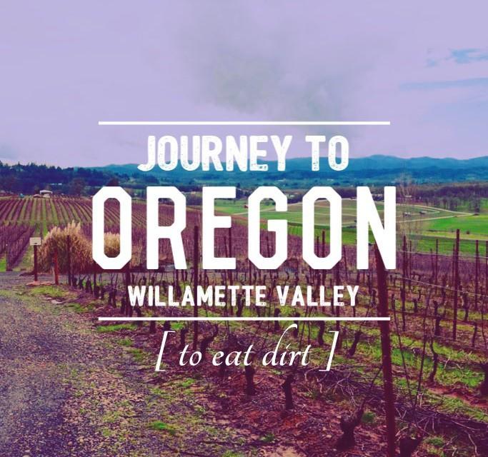 Oregon Winemaker Eats Dirt