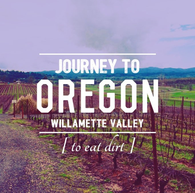 Oregon Winemaker Eats Dirt
