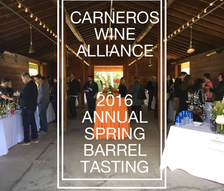 Carneros Wine Alliance Annual Spring Barrel Tasting