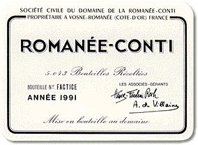 Grand Cru Burgundy Label