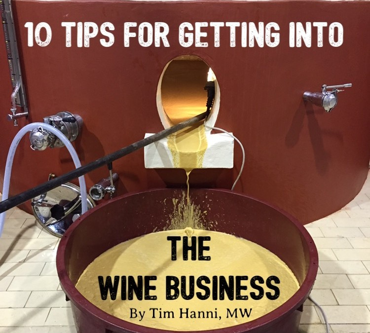 10 Tips For Getting Into the Wine Business
