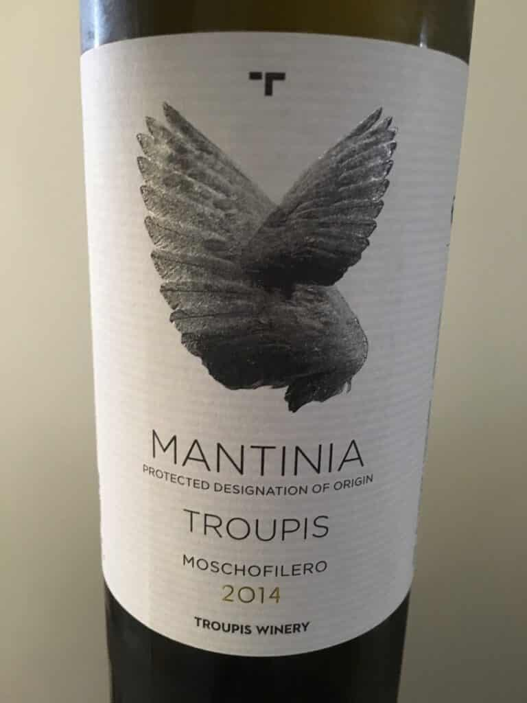 Troupis 2014 Mantinia Moschofilero, Greece