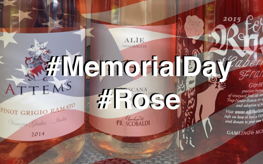 Memorial Day: Skip the Red the White and Go Rosé