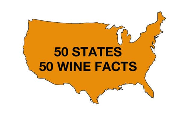 50 Wine Facts from 50 United States