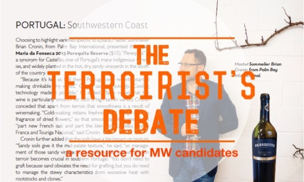 Terroirist's Debate: A Resource for MW Candidates