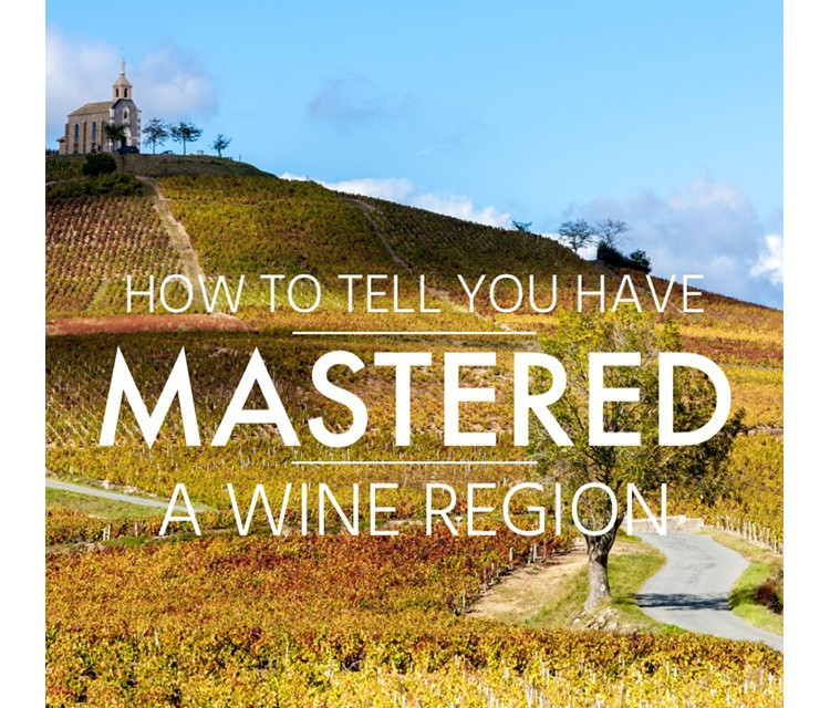How to Tell You Have Mastered a Wine Region