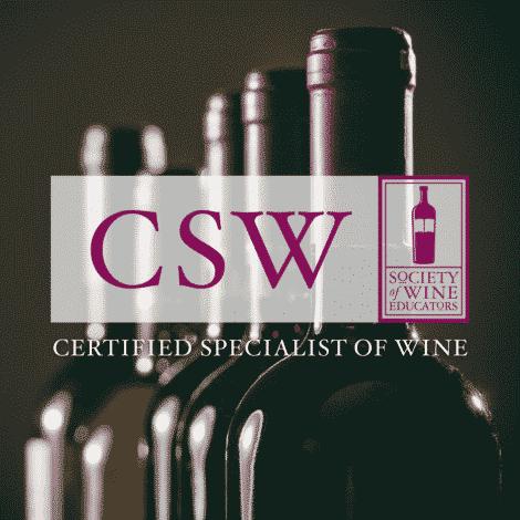 Certified Wine Specialist