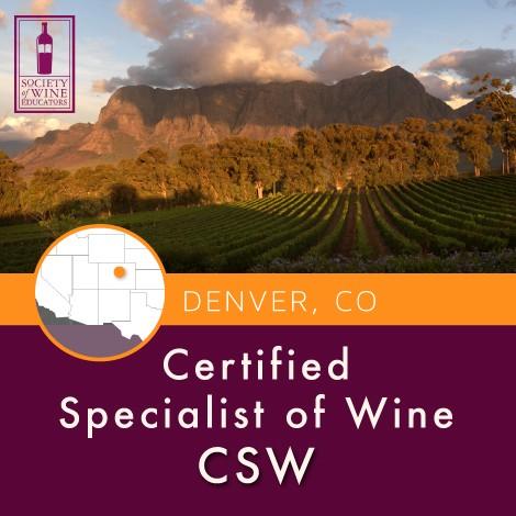 CSW Course   Denver, Colorado   Napa Valley Wine Academy
