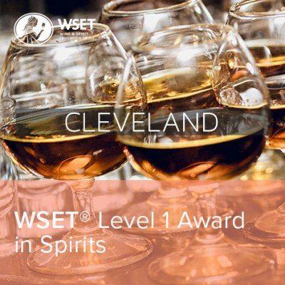 WSET Level 1 Spirits Cleveland