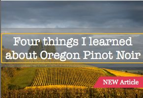 Four things I learned about Pinot Noir