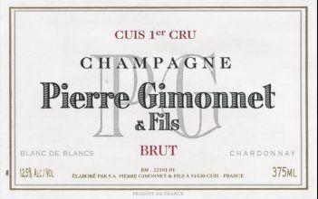 """Wine Recommendation: PIERRE GIMONNET Champagne """"Cuvée Cuis"""" Blanc de Blancs, 1er Cru"""