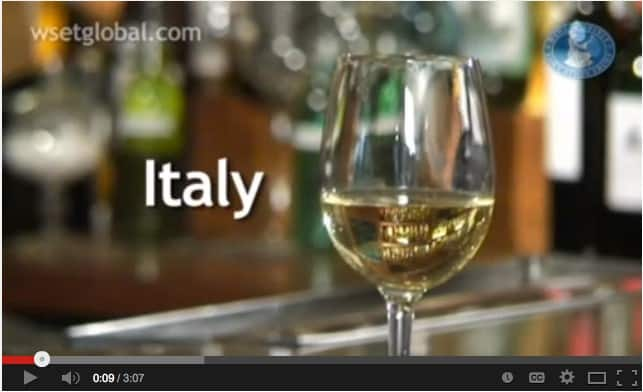 WSET 3 Minute Wine School – Italy