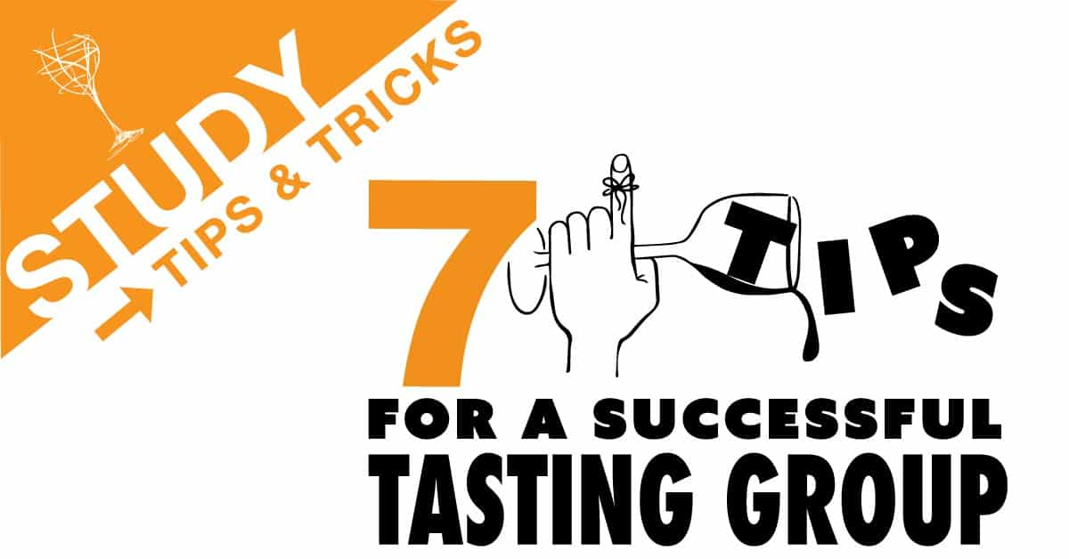 7 Tips For a Successful Tasting Group